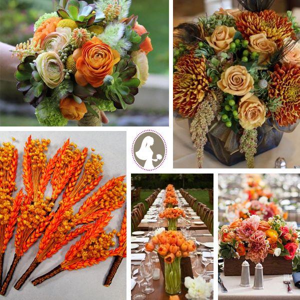 Pinterest Fall Wedding Flowers: Visit Our Rust Orange Fall Wedding