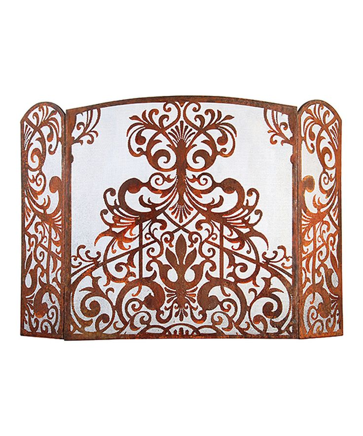 Look at this Small Victorian Fireplace Screen on #zulily today!
