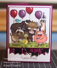 stampwithamber - Amber Meulenbelt, independant Stampin' Up! demonstrator: It's Pasture Birthday - From the Herd