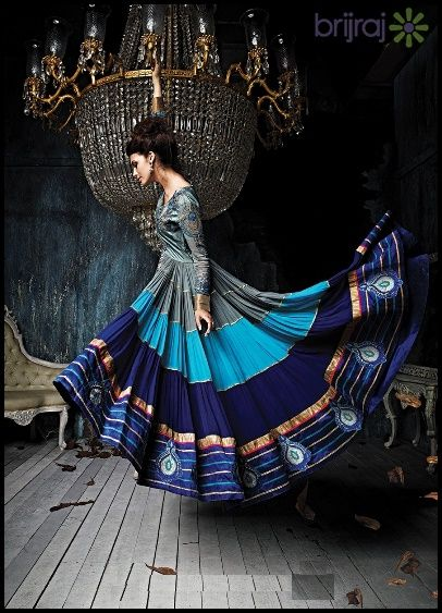 Were you waiting for new collections of Brijraj's anarkali suits online? Here we are with latest anarkali suit collection of 2015 that is exclusively available at brijraj.