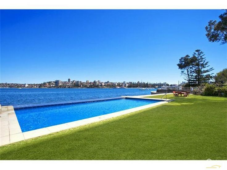 Pool blending into Sydney Harbour - Apartment for Rent in Manly NSW 2095