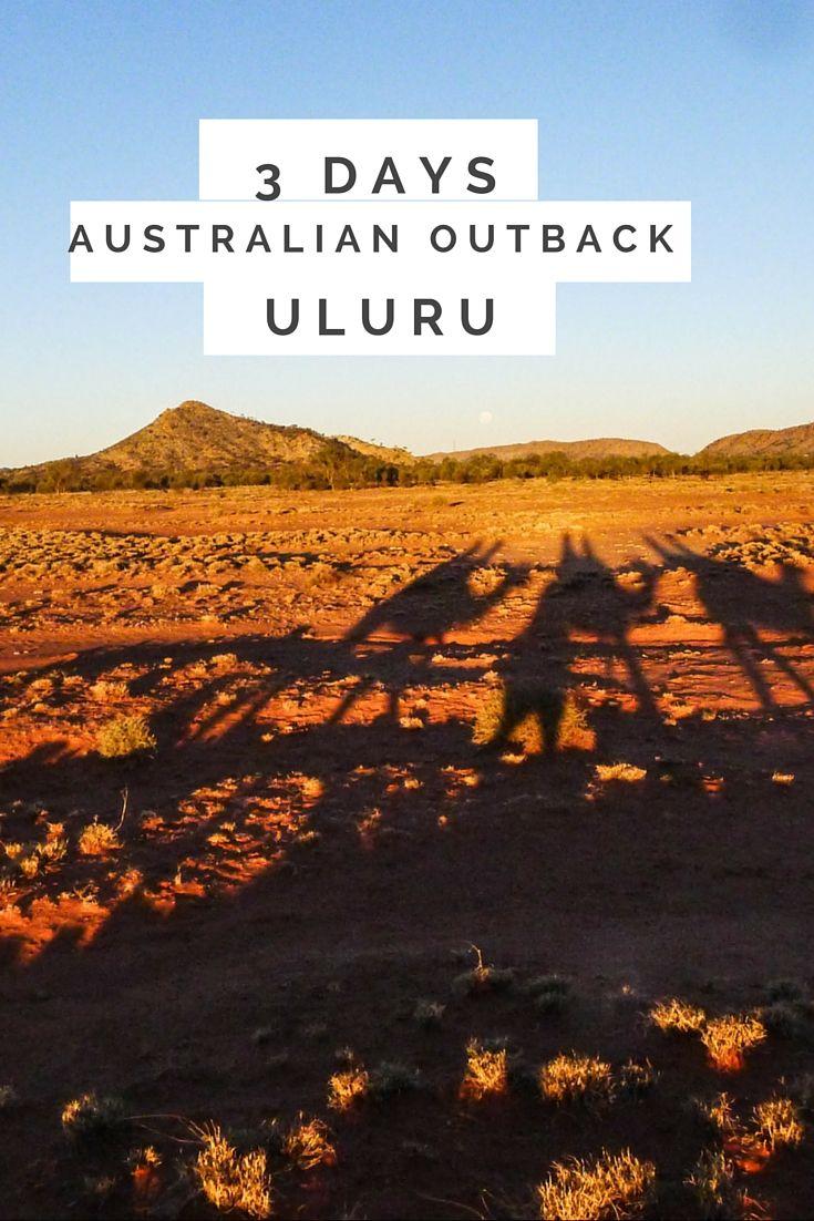 Experiencing the outback. Uluru, Australia via The Rock Tour