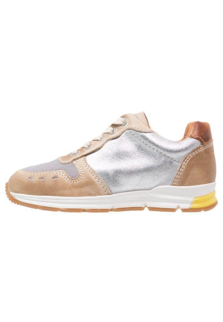 #Bisgaard #Sneaker #low #shiny #silver für #Kinder -