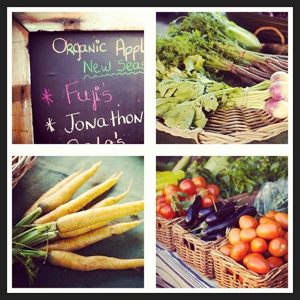 Produce from Sydney's organic markets