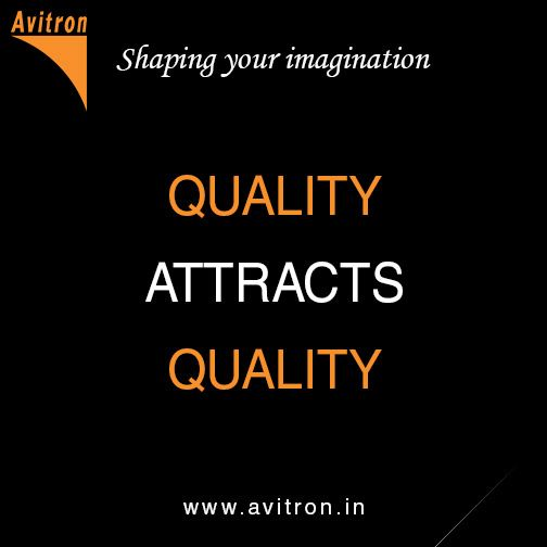 Quality attracts quality.