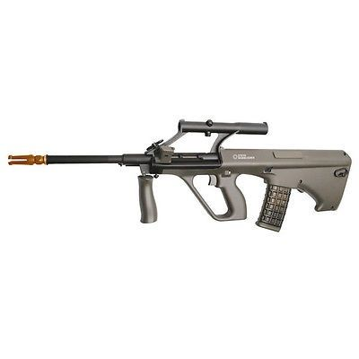nice ASG Steyr AUG A1 Full Metal Auto & Semi AEG Airsoft Rifle w Built in 1.5x Scope - For Sale Check more at http://shipperscentral.com/wp/product/asg-steyr-aug-a1-full-metal-auto-semi-aeg-airsoft-rifle-w-built-in-1-5x-scope-for-sale/