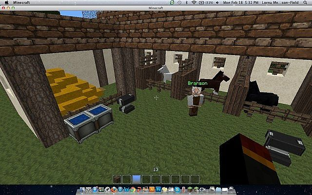 Medieval Horse Stable Minecraft Project