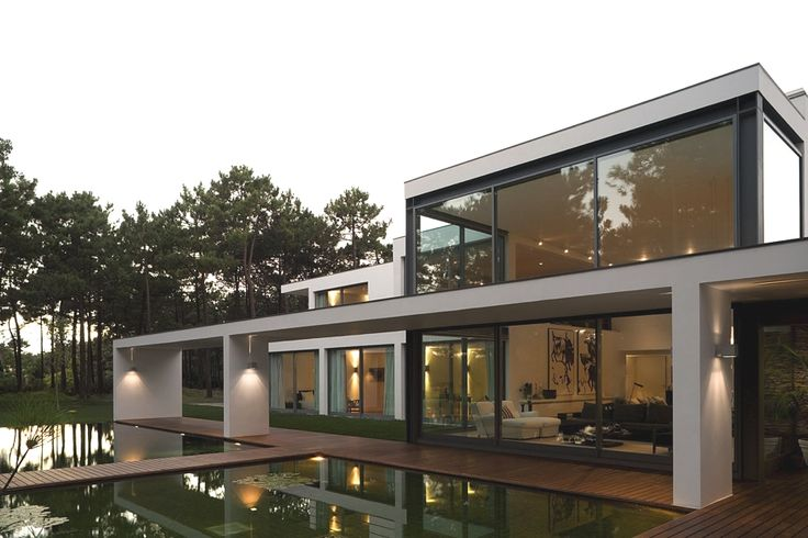 Exciting Residential Project Underlining Serenity: Casa Do Lago In Portugal  House Plans Modern Plan Modern House Home U0026 Design