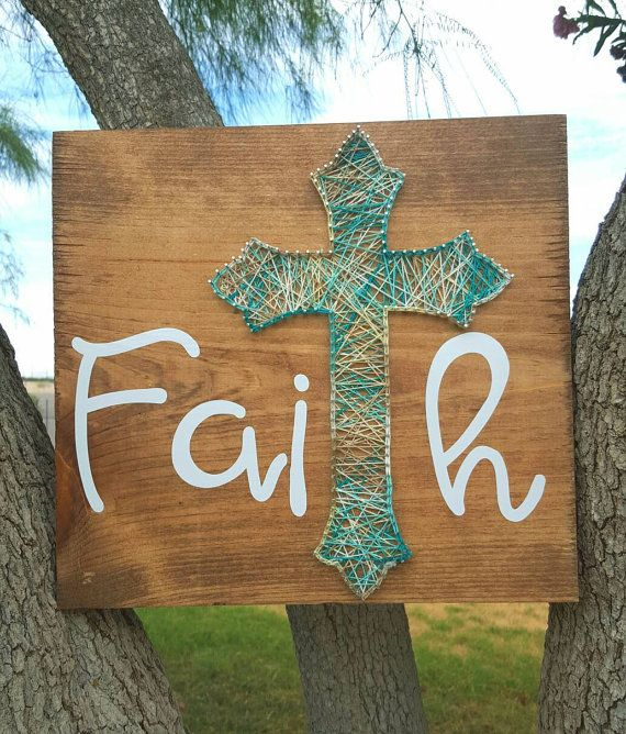 Faith String Art by SBPersonalCreations on Etsy