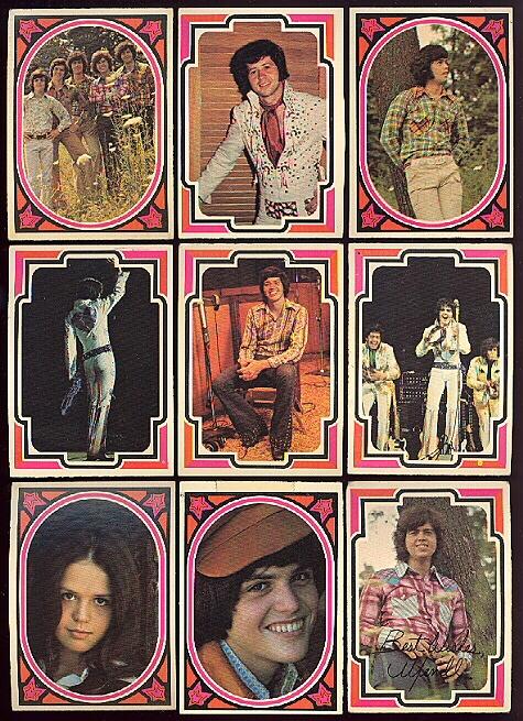 Osmond Bubblegum cards