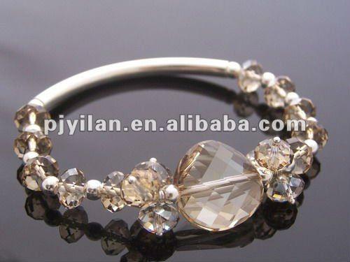 pulseras elegantes cristal - Buscar con Google