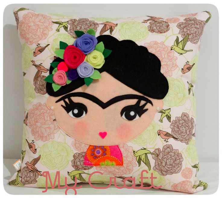 Almofada Frida Khalo