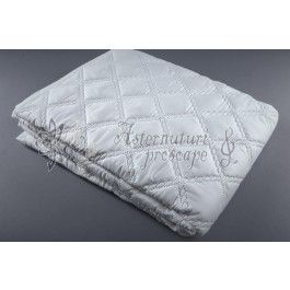 Protectie saltea SomnArt Superior Plus hipo alergica medicinala matlasata alba 160x200