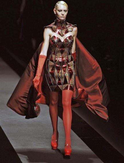 Atsushi Nakashima en la Semana de la Moda de Tokio. Simplemente ¡brillante!