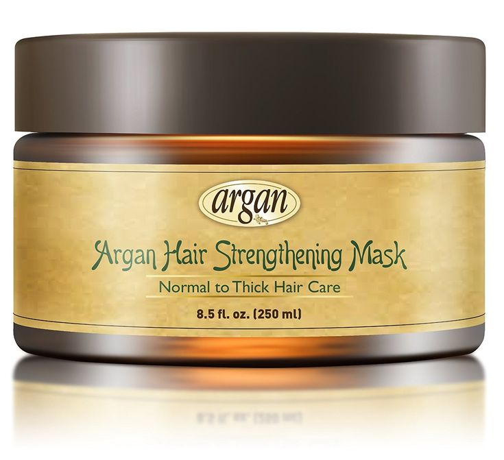 Hair Strengthening Deep Conditioner Mask - Thick Coarse Hair Care - Moroccan Argan Masque 8.5 oz for Thinning Brittle Hair Restoration with Long Lasting Conditioning -- You can find out more details at the link of the image. #hairproduct