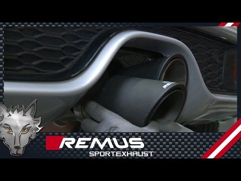 REMUS Sport Exhaust is a Premium, High Performance Exhaust. Click now to see it in action!
