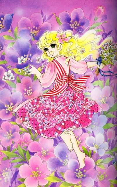 "Art from ""Lady Georgie"" series by manga artist Yumiko Igarashi."
