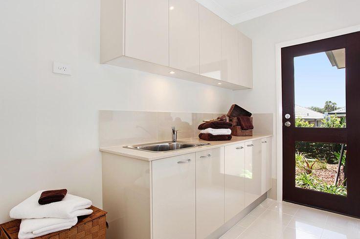 Monaco | McDonald Jones Homes | Laundry