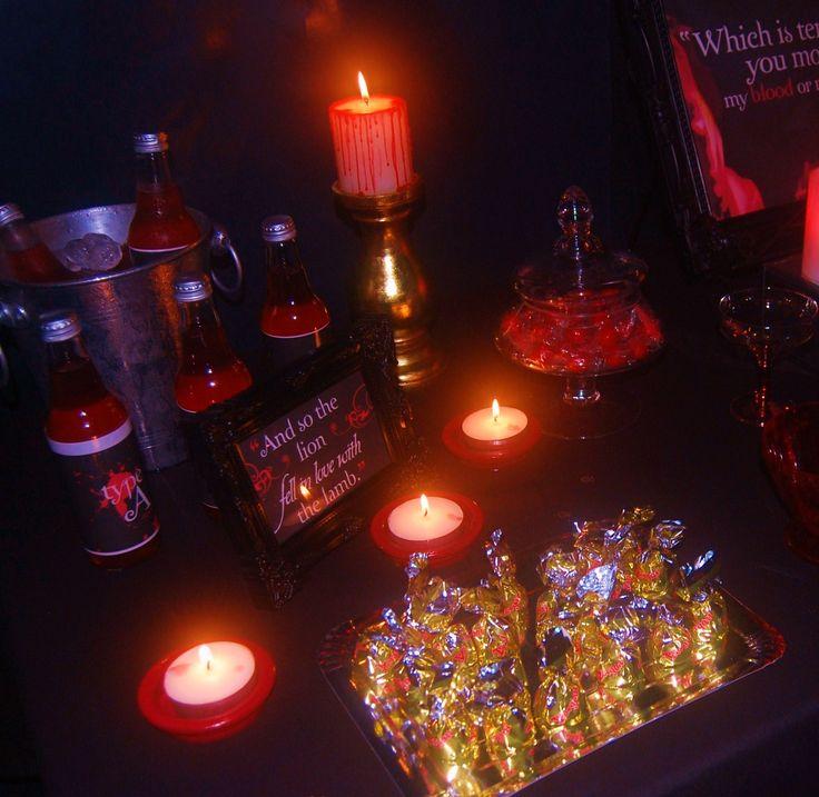 Vampire lolly buffet