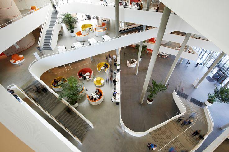 Universitätsgebäude SDU in Kolding - Sonnenschutz - Kultur / Bildung…