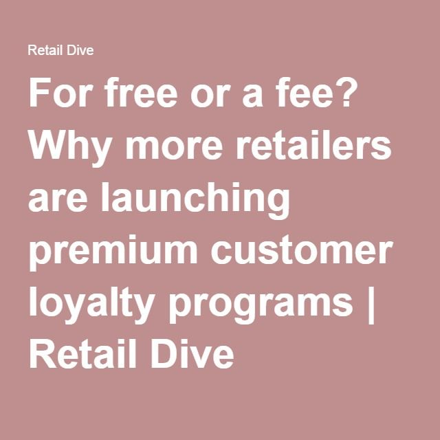 retailing lessons from loyalty programs around While we see retailers around the world actively move away from long-term, points based schemes to programs that offer immediate gratification and non-monetary rewards, the next frontier will be.