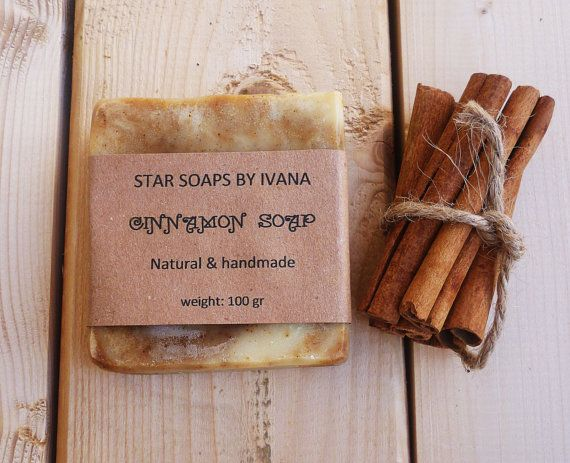 CINNAMON SOAP  Handmade Soap Bar with Cinnamon by StarSoapsbyIvana