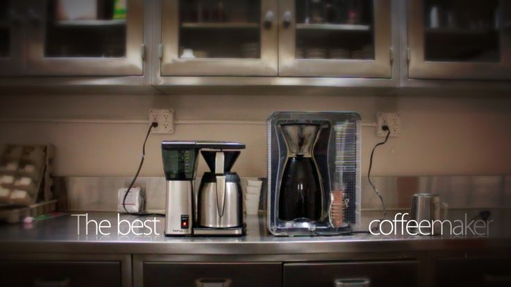 (this is from 2012) Bonavita's Automatic Coffee Brewer and Bodum's Bistro Pourover Machine reviews