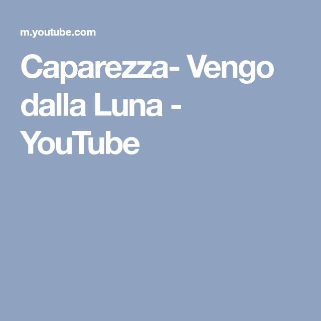 Caparezza- Vengo dalla Luna - YouTube