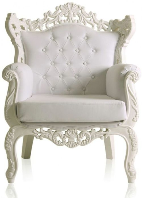 what a pretty chair..would be even prettier in a soft color pink...in a pretty shabby chic room