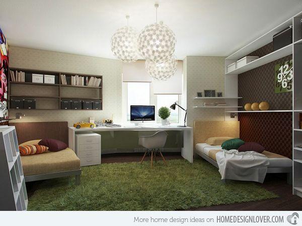 20 Ingenious Workspaces For Teenage Boys. Teenage BedroomsTeen BedroomTeen  Boy RoomsBedroom IdeasTeen ...