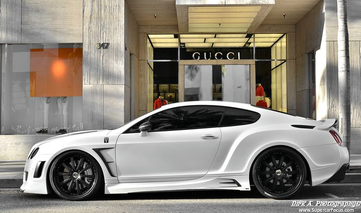 bentley gt wide body gucci