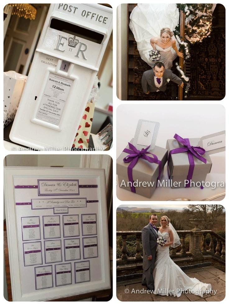 Purple wedding - Real White Crafts Brides