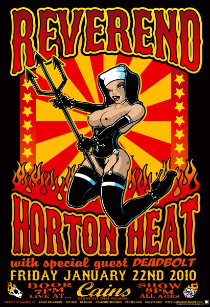 Gigposters Com Reverend Horton Heat The Deadbolt
