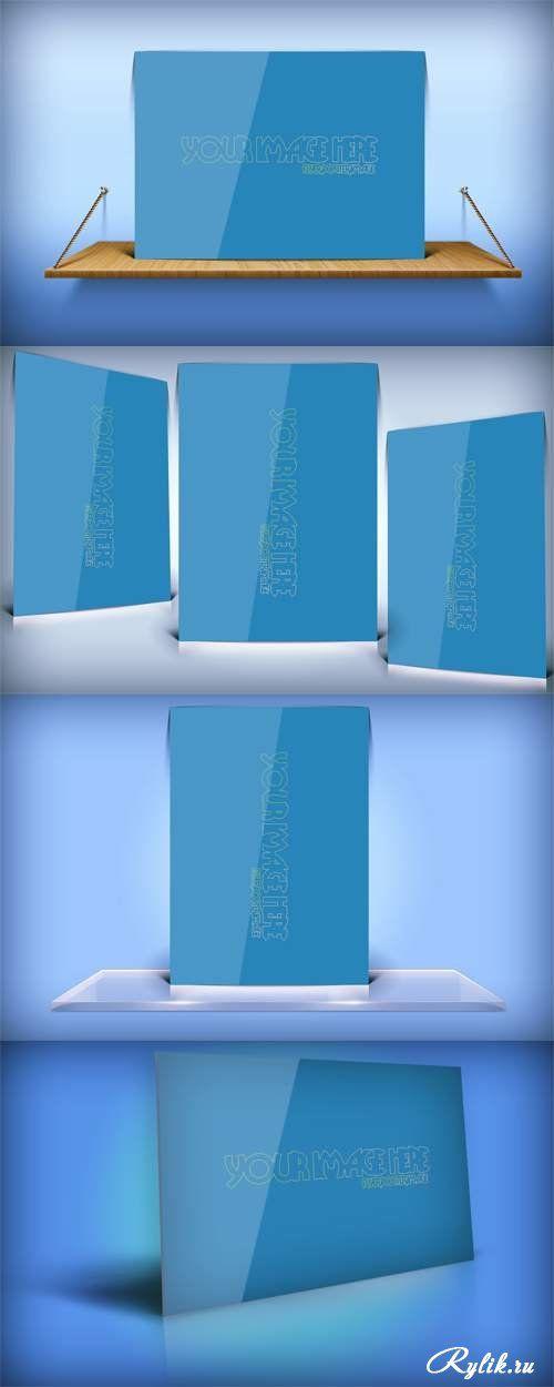Макеты для презентации флаера. Advertising Flyer Mock ups PSD