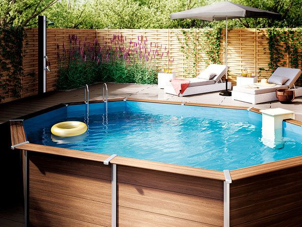 17 best images about piscinas peque as small pools on for Hacer una piscina en casa