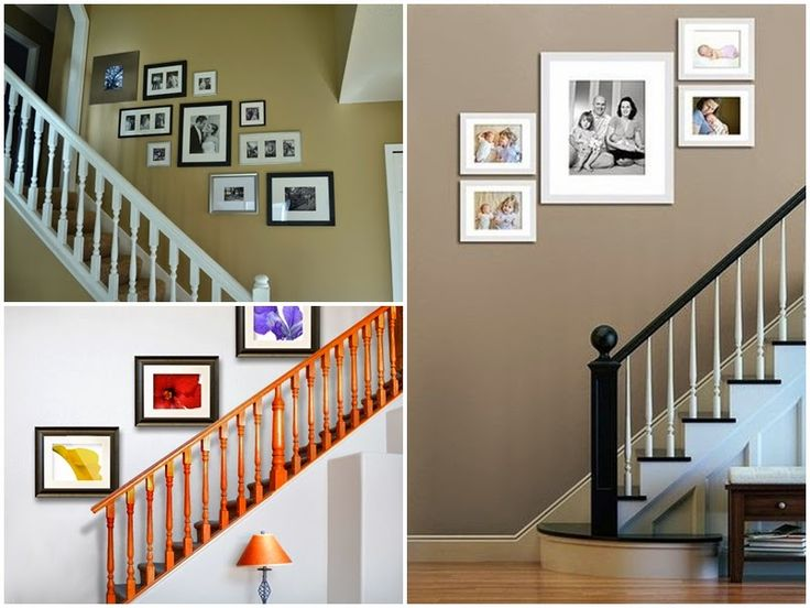 17 mejores ideas sobre paredes de la escalera con fotos en - Como decorar una escalera interior ...