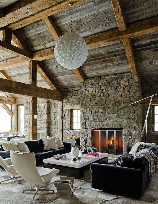 Modern Lodge Style Guide | Modern lodge, Mid century rustic and ...