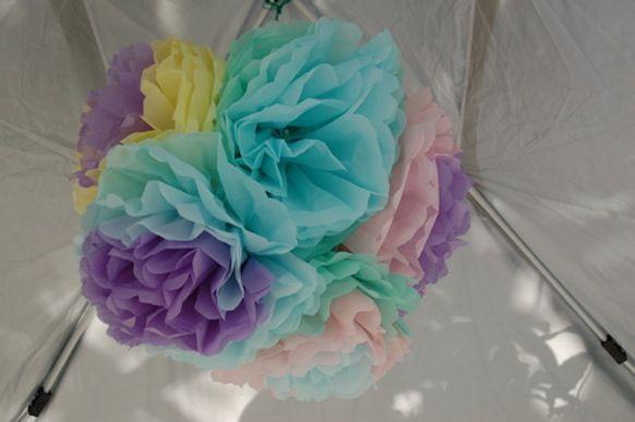 zeynep harikalar diyarında: Kağıttan çiçekler yapalım hiç solmasınlar :)