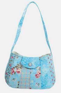 sling purse pattern - love the fabric.