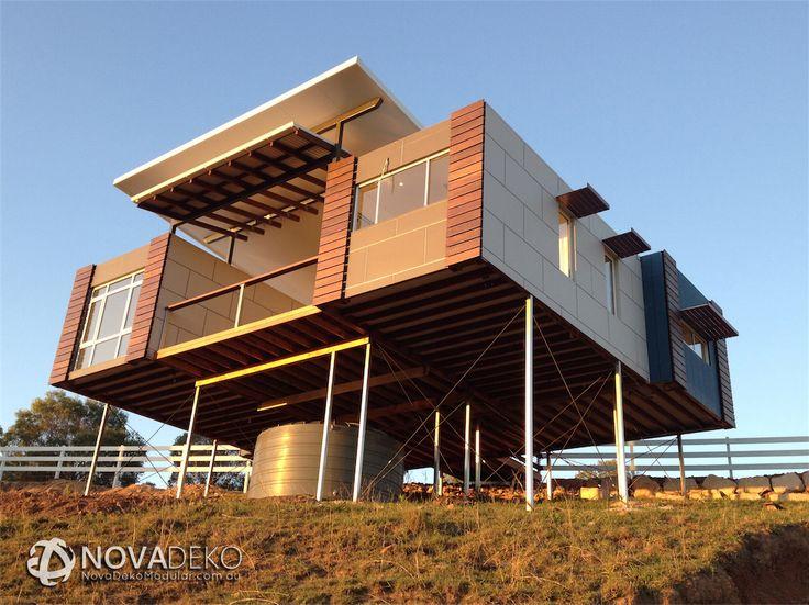 nova deko Installed modular home for branell homestead