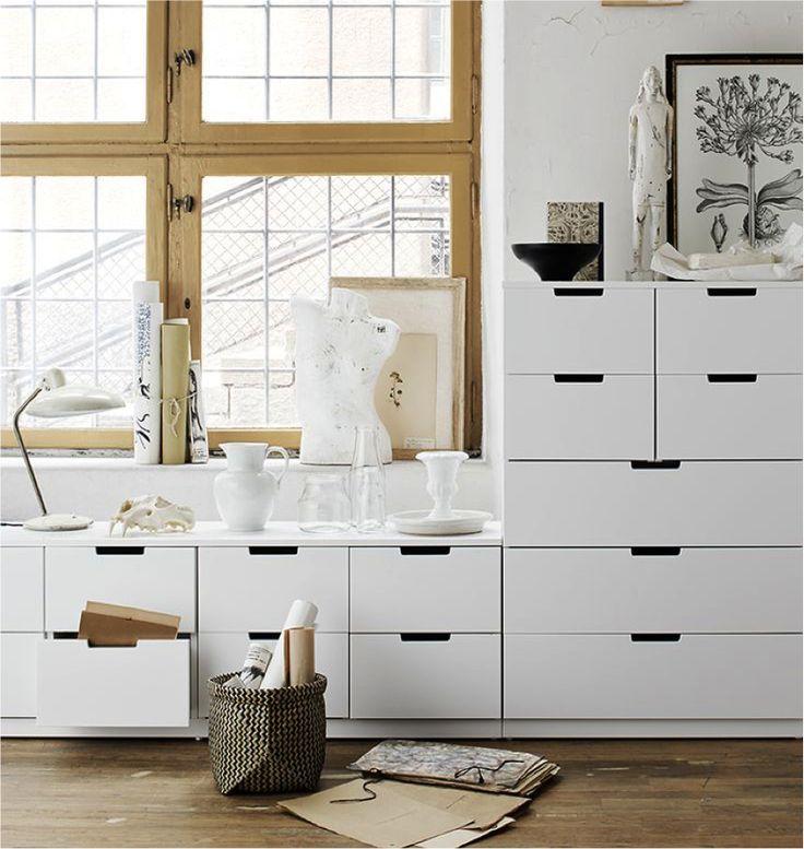Wandkast Ikea Nordli