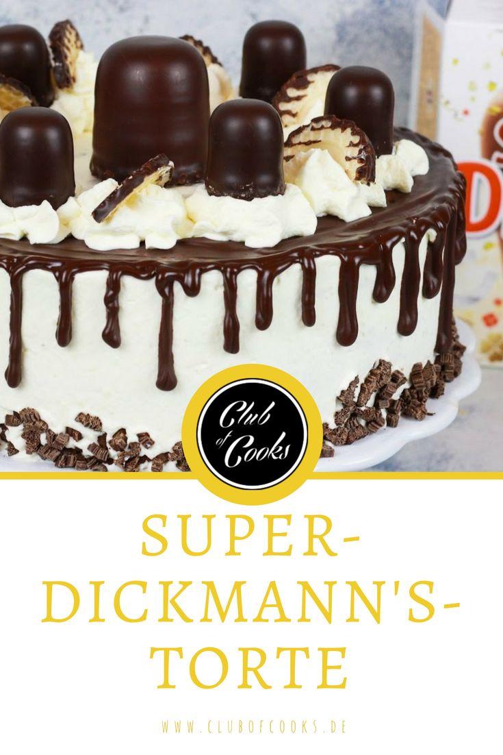 Mmmhhh, sind die dick man! Super Dickmann's gehören zu den Klassikern und können mittlerweile in vielen Variationen vernascht werden: ob im Brötchen, als selbstgemachte Quarkcreme, als Topping für leckere Pancakes oder Super Dickmann's Hot Chocolate. In diesem Video zeigen wir euch ein tolles Rezept für eine Torte aus den beliebten Schokoküssen. Viel Spaß mit dem Rezept!