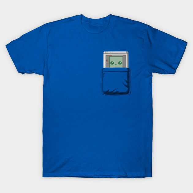 Pocket Games T-Shirt - Game Boy T-Shirt is $14 today at TeePublic!
