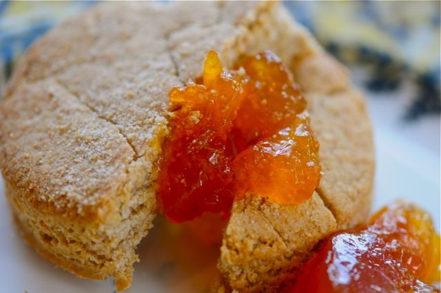 Yummy whole wheat biscuits. Jane from Sea of Shoes recommends you eat ...