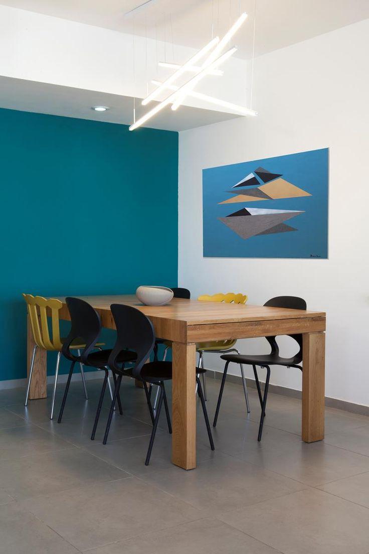 לחבק את תל אביב: הלבשת דירה בשלל צבעים   בניין ודיור