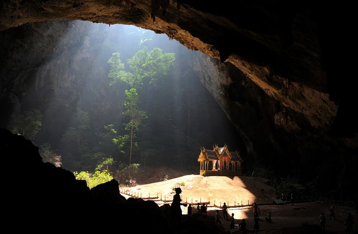 Kuha Karuhas pavilion (1890) located inside the Phraya Nakhon cave, in the Khao Sam Roi Yot national park, Thailand
