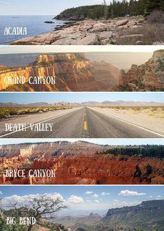 La beauté des parcs nationaux américains.