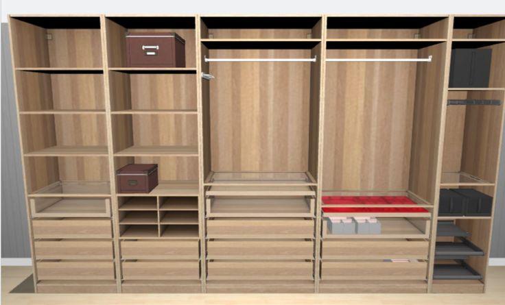 Garderobe planner (PAX) van IKEA. Je kunt zelfs de indeling van de kasten helemaal zelf bepalen. http://www.ikea.com/ms/nl_NL/rooms_ideas/planner_pax3d/index.html