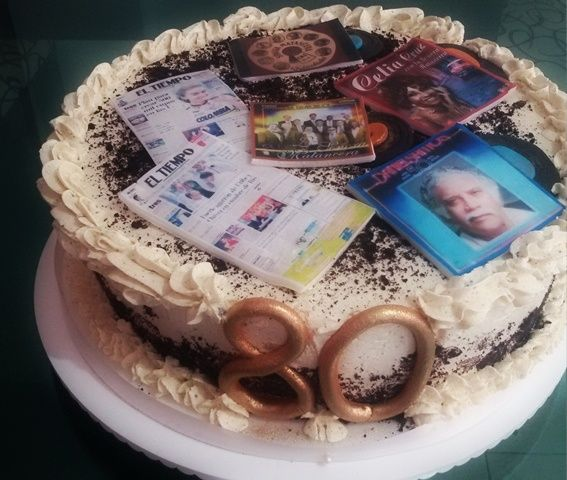 torta con impresiones comestibles