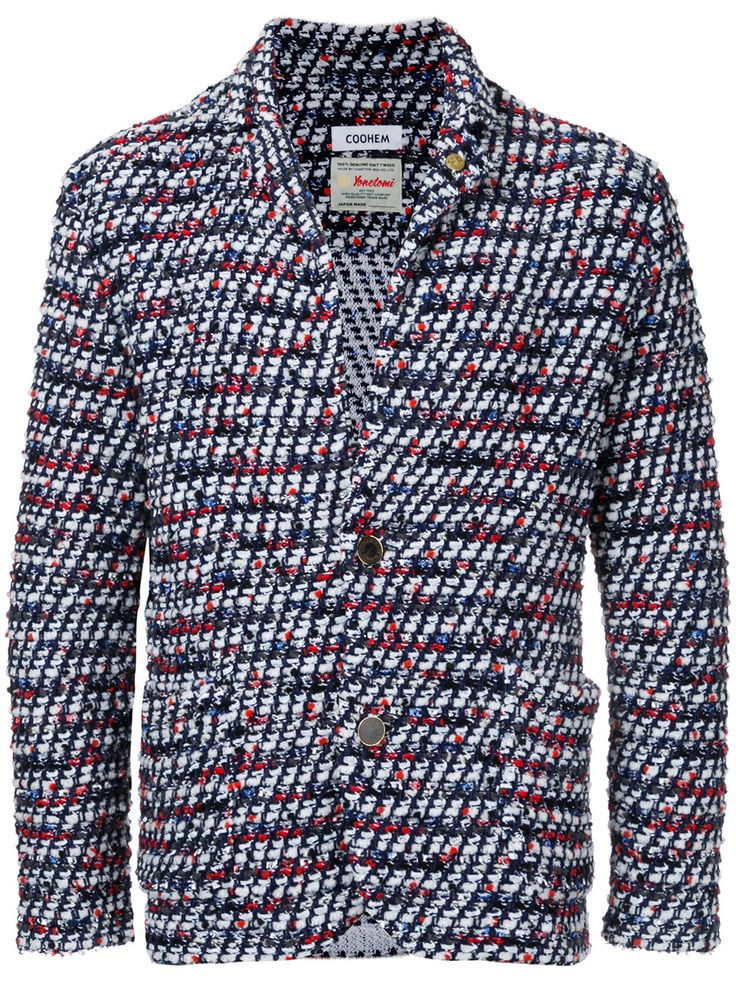 COOHEM 'Vimar' Tweed-Sakko